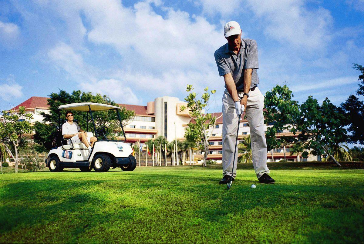 Golf at Melia Properties in Varadero