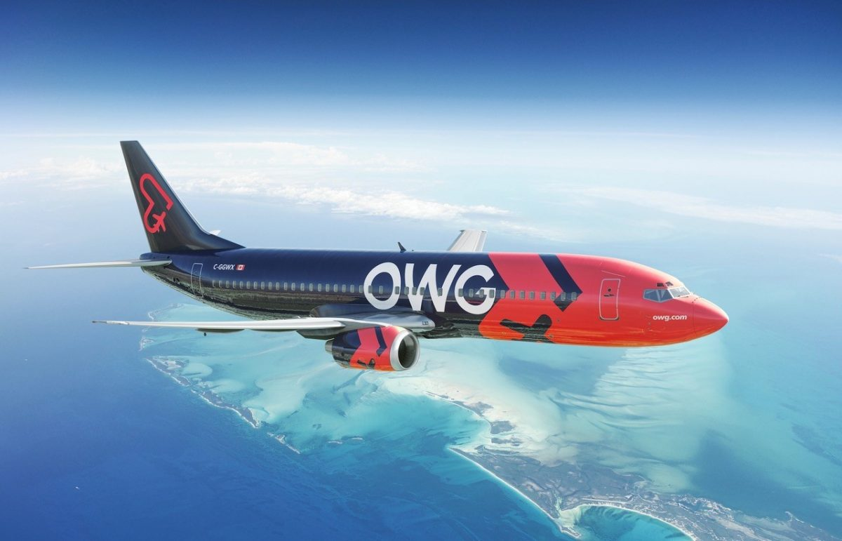 Select Class Option with OWG Airlines